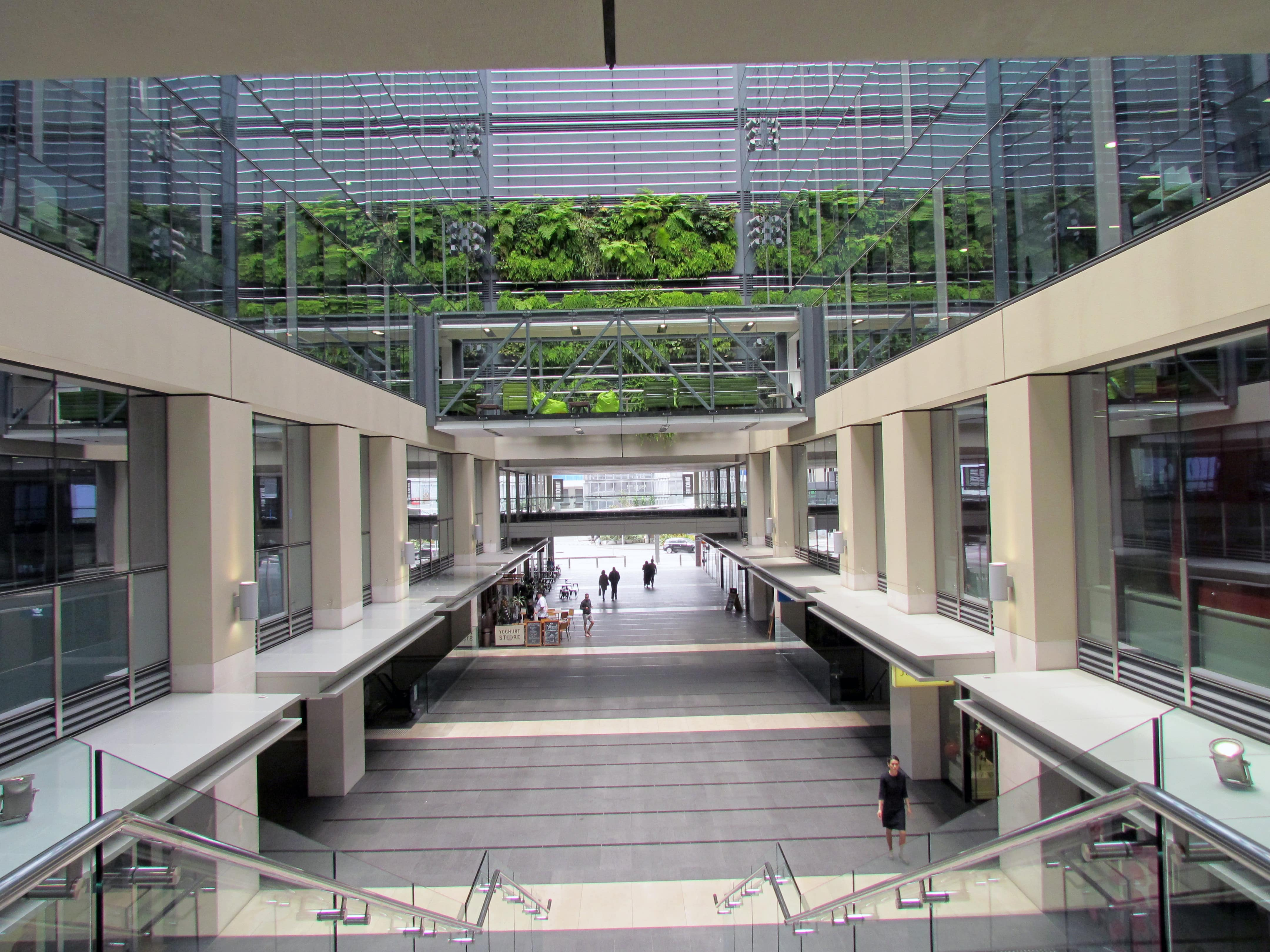 Green Building Interior